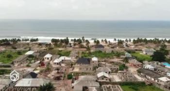 Beach Front 500sqm Residential Plot, The Gemstone - Beachfront Estate, Eleko, Ibeju Lekki, Lagos, Residential Land for Sale