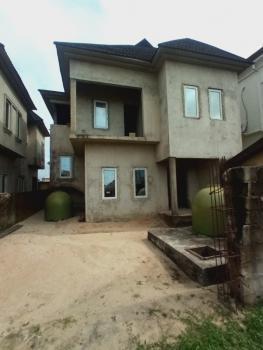 4 Bedrooms Fully Detached Duplex + Bq. 85% in Completion, Around Peninsula Garden Estate, Ajah, Lagos, Detached Duplex for Sale