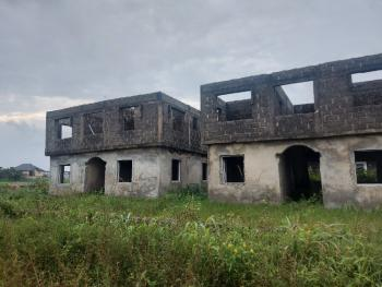 Uncompleted Four (4) Bedroom Detached Duplex with Two (2) Living Room, Richland Gardens, Ibeju Lekki, Lagos, Detached Duplex for Sale