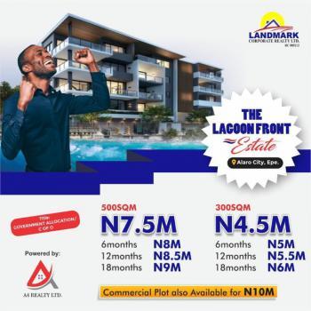 Land, The Lagoon Front Estate, Alaro City, Epe, Lagos, Residential Land for Sale