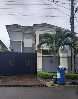 Well Maintained Luxury 5 Bedrooms Duplex + Bq in a Secure Estate, Gra Phase 1, Magodo, Lagos, Detached Duplex for Sale