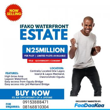 Plots of Land in a Serene and Central Location., Waterfront Estate, Ifako, Gbagada, Lagos, Residential Land for Sale