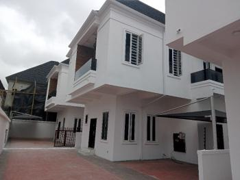Newly Built and Well Finshed 4 Bedroom Duplex with a Room Bq, Oral Estate, Lekki, Lagos, Detached Duplex for Sale