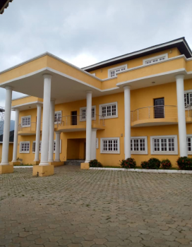 6 Bedrooms Mansion Penthouse, 2 Kitchens with 2 Room Guest Chalet, Asokoro District, Abuja, Detached Duplex for Sale