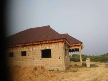 Uncompleted 4 Bedroom Bungalow on Full Plot, Arogun Bus Stop, Ofada Road, Mowe Town, Ogun, Detached Bungalow for Sale