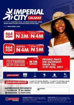 Buy a Plot of Land, Imperial City, Close to North West Filling Station, Calabar, Cross River, Mixed-use Land for Sale