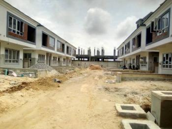 Brand New 4 Bedroom Terrace Duplex with Bq, Osapa, Lekki, Lagos, Terraced Duplex for Sale