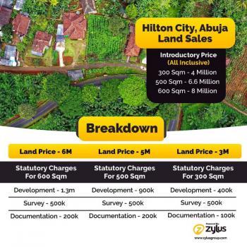 Land. R of O, Hilton City, Kurudu, Abuja, Residential Land for Sale