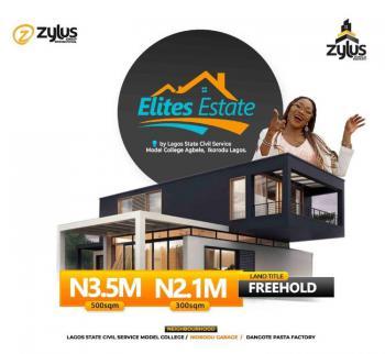 Land, Elites Estate, Agbele, Ikorodu, Lagos, Residential Land for Sale