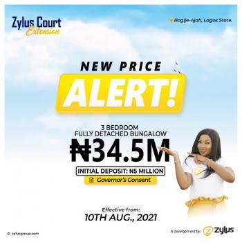 Luxury 3 Bedroom Duplex and Fully Detached Bungalow, Directly Facing Lekki Epe Express Way, Bogije, Ibeju Lekki, Lagos, Semi-detached Duplex for Sale
