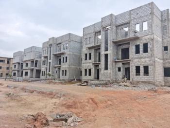 Luxury 4 Bedrooms Terrace Duplex House with Bq, City View Estate Apo, Gudu, Abuja, Terraced Duplex for Sale