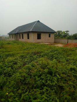Uncomplete 4 Bedroom Sitting on One and Half Plot, Damolapa Laketu Lucky Fibre, Ikorodu, Lagos, Detached Bungalow for Sale