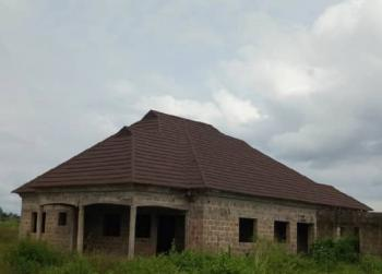 an Uncompleted 4 Bedrooms Detached Bungalow, Ensuite, at Arogun Bus-stop, Along Ofada Road, Mowe Ofada, Ogun, Detached Bungalow for Sale
