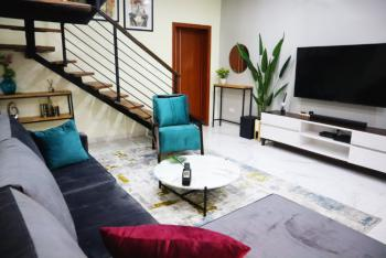 New 2 Bedrooms Maisonette Duplex with Side Attractions, Lcc Olusesi Road, Beside Lekki Conservation Center, Chevron., Lekki, Lagos, Semi-detached Duplex Short Let