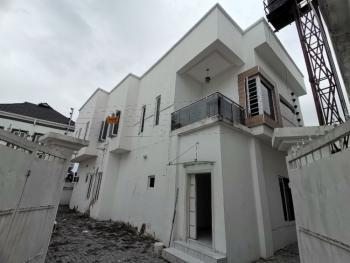 Neatly Finished 5 Bedroom Detached Duplex with Bq, Gated Estate, Osapa, Lekki, Lagos, Detached Duplex for Rent