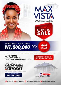 Plots of Land Availabe in Our Newly Launched Estate, Max Vista Umueri, Onitsha, Anambra, Mixed-use Land for Sale