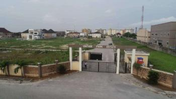Service Estate (buy and  Build) Lanwith Good Road Network, Vintage Park Estate, Ikate, Lekki, Lagos, Residential Land for Sale