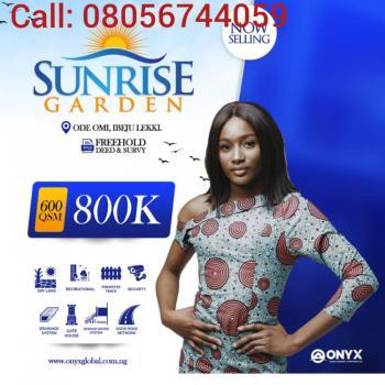 Land, Sunrise Garden Estate, Off Igbogun Road, Folu - Ise. Lftz Road, Ode Omi, Ibeju Lekki, Lagos, Mixed-use Land for Sale