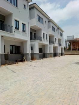 Newly Built 4 Bedroom Terrace Duplex with Bq, Off Osun Crescent, Maitama District, Abuja, Terraced Duplex for Sale