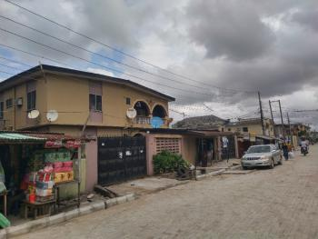 Super Lovely & Neat 4 Flat of 3 Bedroom Each & a Shop with Cofo on Interlock, By Fidelity Bank, Ago Palace, Isolo, Lagos, Block of Flats for Sale
