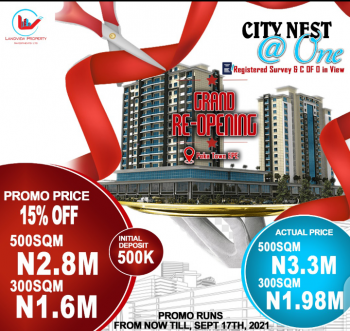 Land (grand Reopening), City Nest Estate, Poka, Epe, Lagos, Residential Land for Sale
