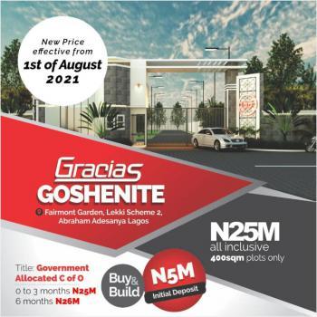 Land, Gracias Goshenite, Abraham Adesanya, Lekki Scheme 2, Ajah, Lagos, Residential Land for Sale