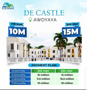 Land, De Castle, Oribanwa Bus-stop, Awoyaya, Ibeju Lekki, Lagos, Residential Land for Sale