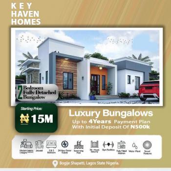 Luxury 2 Bedroom Fully Detached Bungalow, Shapati Area Off Lekki Epe Express Way/key Heaven Homes, Bogije, Ibeju Lekki, Lagos, Detached Bungalow for Sale