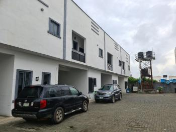 a Lovely and Self-serviced 4 Bedroom Terrace Duplex, Beside Victoria Crest 3, Orchid Road, Lafiaji, Lekki, Lagos, Terraced Duplex for Rent
