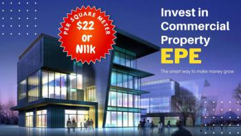 Eagles Pride Estate Commercial Property, Poka Road, Epe, Lagos, Commercial Land for Sale