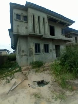 Already in Completion 4 Bedrooms Fully Detached + Bq with Gov. Consent, Around Total, Abraham Adesoya, Ajah, Lagos, Detached Duplex for Sale