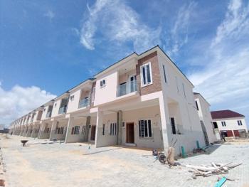 Newly Built 4 Bedroom Terraced Duplex with a Room Bq, Orchid Hotel Road, Lafiaji, Lekki, Lagos, Terraced Duplex for Sale