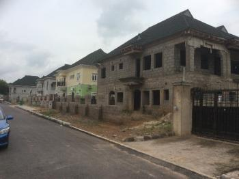 Carcass 5 Bedroom Duplex, Idrisima Estate By City Gate, Kukwuaba, Abuja, Detached Duplex for Sale