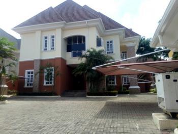 Serviced 6 Bedroom Detached Duplex with 1 Bedroom and 2 Rooms Bq, Off Ibb Way, Maitama District, Abuja, Detached Duplex for Rent