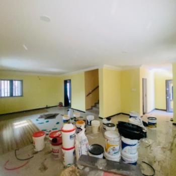 3 Bedroom Terrace Duplex with a Sizable Bq, Happy Land Estate, Sangotedo, Ajah, Lagos, Terraced Duplex for Rent