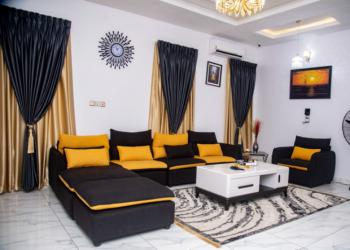 Luxury 3 Bedroom Duplex, Chevron, Lekki, Lagos, Semi-detached Duplex Short Let
