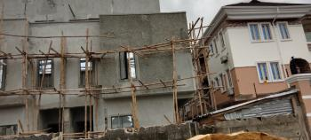 Serviced Off-plan 4 Bedrooms Semi Detached Duplex with a Penthouse, Behind Blenco Supermarket, Ogidan, Sangotedo, Ajah, Lagos, Semi-detached Duplex for Sale
