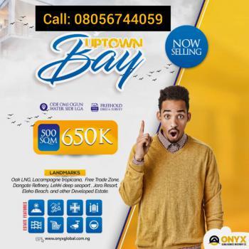 Land, Uptown Bay Estate, Igbogun Road, Lekki Free Trade Zone Road, Ode Omi, Ibeju Lekki, Lagos, Mixed-use Land for Sale