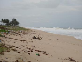 15 Hectares Ocean Front Dry Land, on The 8 Lanes Lekki Coastal Major Express Way, Abijo G. R. a, Abijo, Lekki, Lagos, Mixed-use Land for Sale