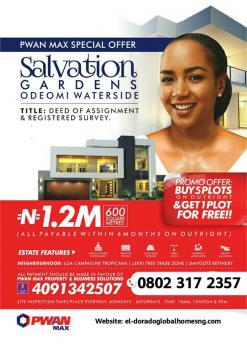 Land, Salvation Gardens Estate, Ode Omi, Ibeju Lekki, Lagos, Mixed-use Land for Sale