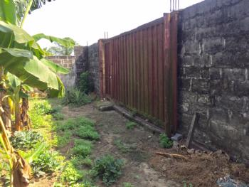 Fenced 100 X130 Ft Land, Ist Street Bendel Estate, Warri, Delta, Mixed-use Land for Sale