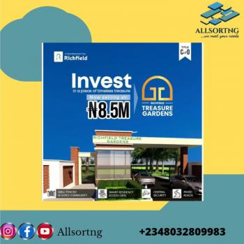 Most Suitable Dry and Affordable Land, Richfield Treasure Gardens, Ibeju, Lagos, Mixed-use Land for Sale