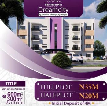 600sqm and 300sqm Land, Abraham Adesanya, Ajah, Lagos, Residential Land for Sale