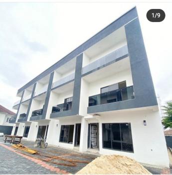 Newly Built 4 Bedrooms Terraced Duplex, Off Muritala Eletu, Osapa, Lekki, Lagos, Terraced Duplex for Rent
