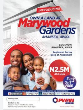 Land, Marywood Gardens, Amansea, Awka, Anambra, Mixed-use Land for Sale