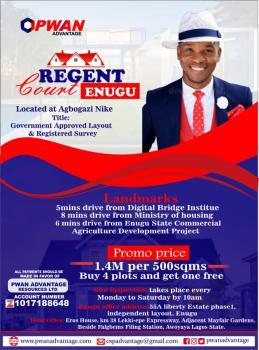 Land, Regent Court, Agbogazi Nike, Enugu, Enugu, Mixed-use Land for Sale