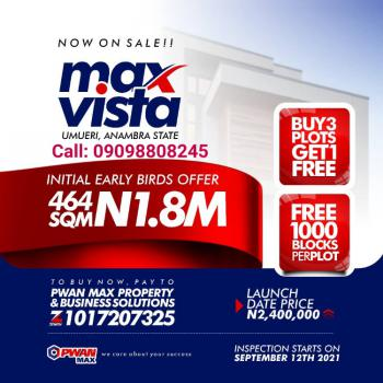 Special  Land Offer, Umueri - Max Vista Estate, Anambra, Anambra, Mixed-use Land for Sale