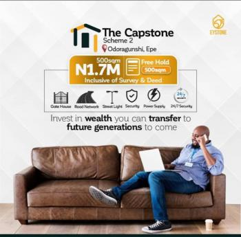 Land, The Capstone Scheme 2, Epe, Lagos, Residential Land for Sale