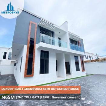 Fabulous Built 4 Bedroom Semi Detached House, 2nd Toll Gate, Lekki, Lagos, Semi-detached Duplex for Sale