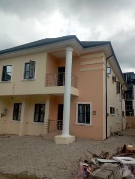 Newly Built 4 Bedroom Semi Detached Duplex with Bq, Before Nepa Junction From Gudu, Apo, Abuja, Semi-detached Duplex for Sale